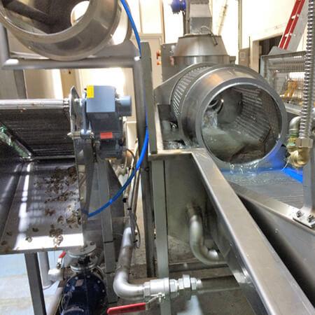 Maquinaria para procesado patata, vibrante calibrado